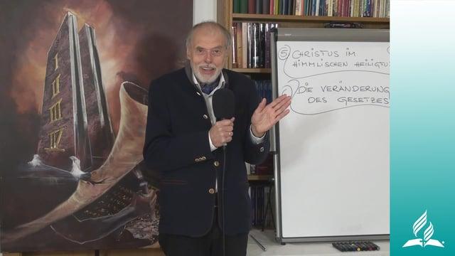 6.2 Das Gesetz und die Sünde – DIE VERÄNDERUNG DES GESETZES | Pastor Mag. Kurt Piesslinger