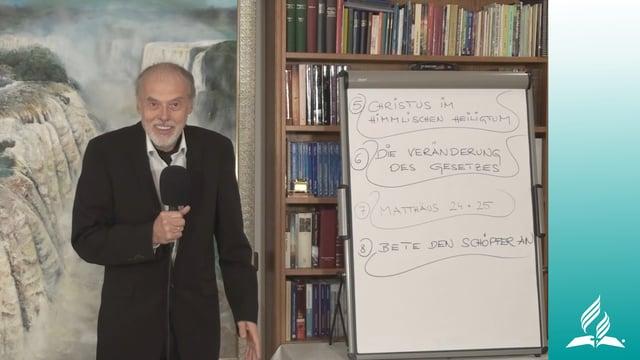 8.2 Der Schächer am Kreuz und das ewige Evangelium – BETE DEN SCHÖPFER AN | Pastor Mag. Kurt Piesslinger