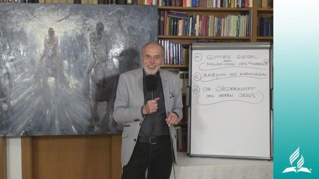 13.3 Langzeiterwartungen – DIE WIEDERKUNFT UNSERES HERRN JESUS   Pastor Mag. Kurt Piesslinger