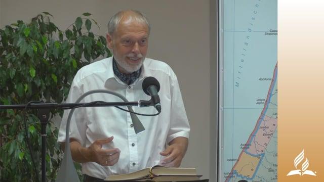 1.1 Die Wiederherstellung Israels – IHR WERDET MEINE ZEUGEN SEIN | Pastor Mag. Kurt Piesslinger