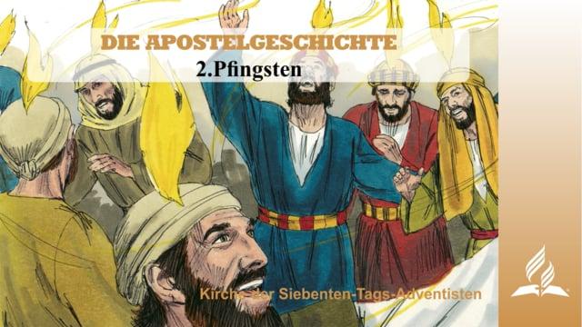 2.PFINGSTEN – DIE APOSTELGESCHICHTE   Pastor Mag. Kurt Piesslinger