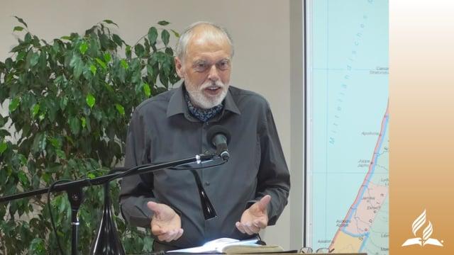6.1 In Lydda und Joppe – DER DIENST VON PETRUS | Pastor Mag. Kurt Piesslinger