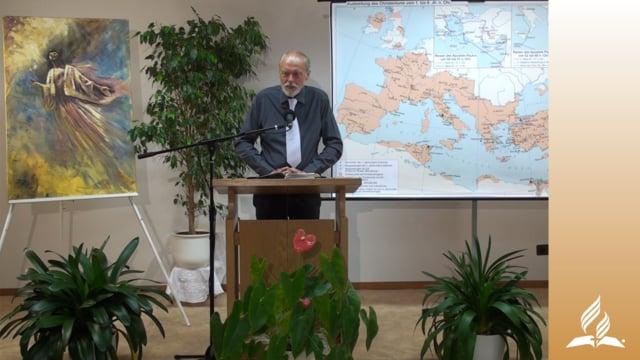 13.2 Das Schiffswrack – DIE REISE NACH ROM | Pastor Mag. Kurt Piesslinger