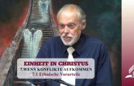 7.1 Ethnische Vorurteile – WENN KONFLIKTE AUFKOMMEN | Pastor Mag. Kurt Piesslinger