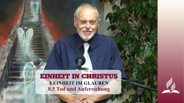 8.5 Tod und Auferstehung – EINHEIT IM GLAUBEN | Pastor Mag. Kurt Piesslinger
