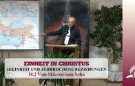 10.2 Vom Sklaven zum Sohn – EINHEIT UND ZERBROCHENE BEZIEHUNGEN | Pastor Mag. Kurt Piesslinger