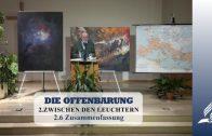 2.6 Zusammenfassung – ZWISCHEN DEN LEUCHTERN | Pastor Mag. Kurt Piesslinger