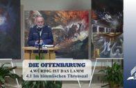 4.1 Im himmlischen Thronsaal – WÜRDIG IST DAS LAMM | Pastor Mag. Kurt Piesslinger