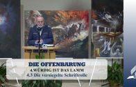 4.3 Die versiegelte Schriftrolle – WÜRDIG IST DAS LAMM | Pastor Mag. Kurt Piesslinger