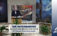 8.5 Satans Endzeitstrategie – SATAN, EIN BESIEGTER FEIND | Pastor Mag. Kurt Piesslinger