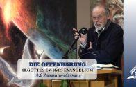 10.6 Zusammenfassung – GOTTES EWIGES EVANGELIUM | Pastor Mag. Kurt Piesslinger