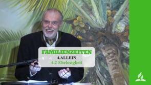 4.2 Ehelosigkeit – ALLEIN   Pastor Mag. Kurt Piesslinger
