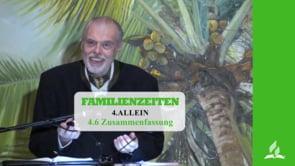 4.6 Zusammenfassung – ALLEIN | Pastor Mag. Kurt Piesslinger