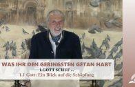 1.1 Gott: Ein Blick auf die Schöpfung – GOTT SCHUF …  | Pastor Mag. Kurt Piesslinger