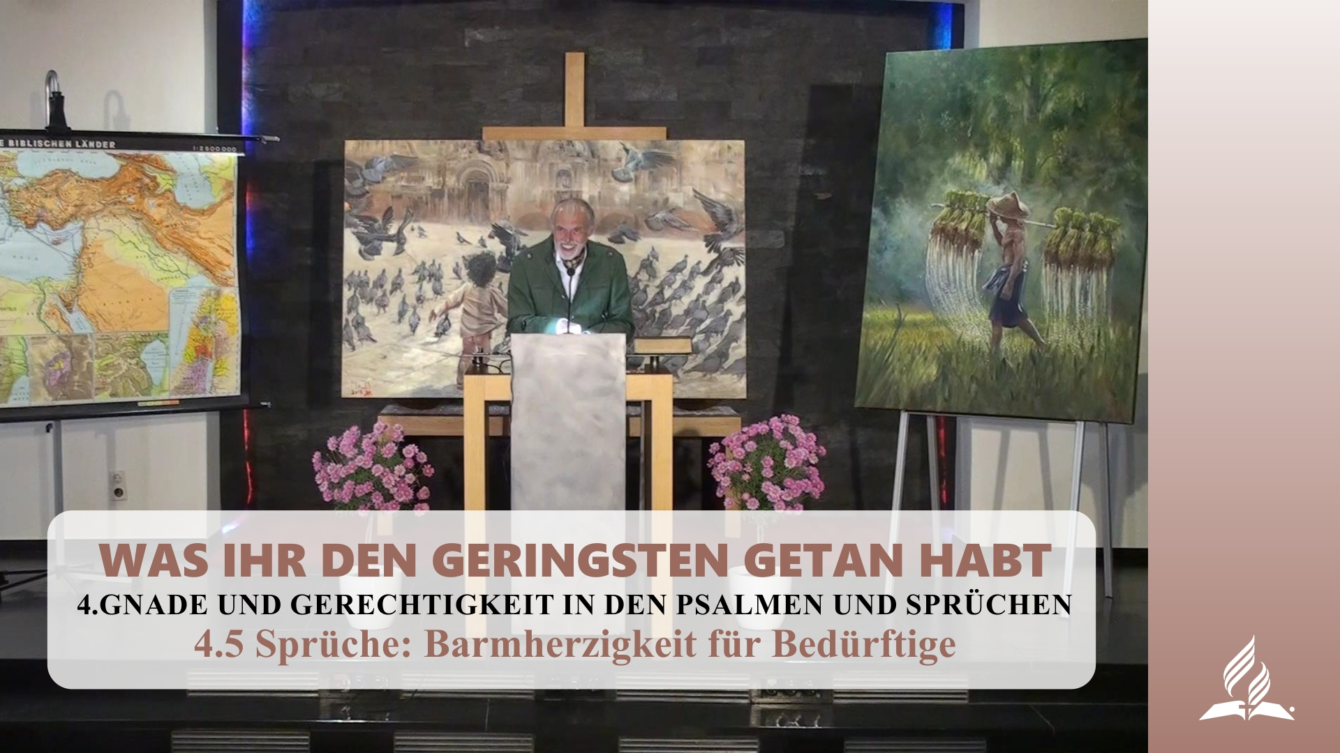 4.5 Sprüche-Barmherzigkeit für Bedürftige – GNADE UND GERECHTIGKEIT IN DEN PSALMEN UND SPRÜCHEN | Pastor Mag. Kurt Piesslinger
