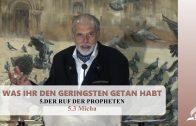 5.3 Micha – DER RUF DER PROPHETEN | Pastor Mag. Kurt Piesslinger