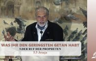 5.5 Jesaja – DER RUF DER PROPHETEN | Pastor Mag. Kurt Piesslinger