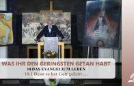 10.1 Denn so hat Gott geliebt – DAS EVANGELIUM LEBEN | Pastor Mag. Kurt Piesslinger