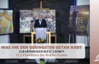 12.1 Prioritäten des Reiches Gottes – BARMHERZIGKEIT LIEBEN | Pastor Mag. Kurt Piesslinger