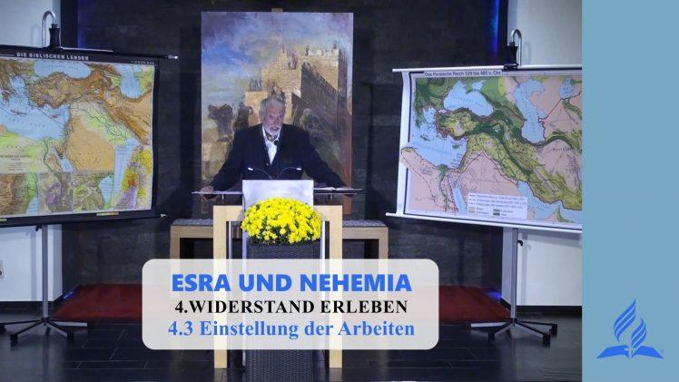 4.3 Einstellung der Arbeiten – WIDERSTAND ERLEBEN | Pastor Mag. Kurt Piesslinger