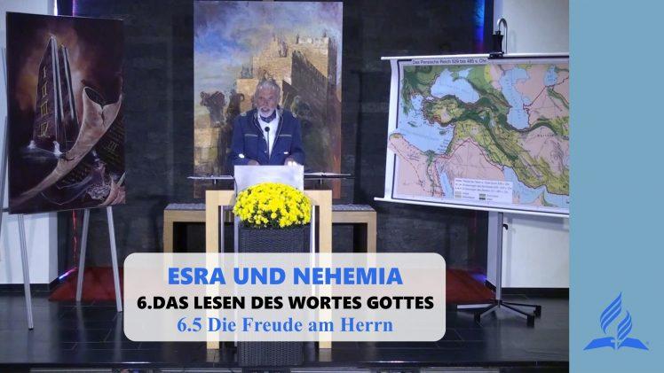 6.5 Die Freude am Herrn – DAS LESEN DES WORTES GOTTES | Pastor Mag. Kurt Piesslinger