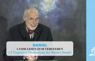 1.5 Gegenwartsbedeutung des Buches Daniel – VOM LESEN ZUM VERSTEHEN | Pastor Mag. Kurt Piesslinger