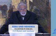 13.5 Demut und Ausdauer – LEITER IN ISRAEL | Pastor Mag. Kurt Piesslinger