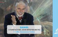 3.1 Die Immanenz Gottes – VOM RÄTSEL ZUR OFFENBARUNG | Pastor Mag. Kurt Piesslinger