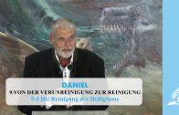 9.4 Die Reinigung des Heiligtums – VON DER VERUNREINIGUNG ZUR REINIGUNG | Pastor Mag. Kurt Piesslinger