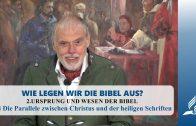 2.4 Die Parallele zwischen Christus und der heiligen Schriften – URSPRUNG UND WESEN DER BIBEL | Pastor Mag. Kurt Piesslinger