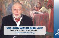 7.6 Zusammenfassung – SPRACHE, TEXT UND KONTEXT | Pastor Mag. Kurt Piesslinger