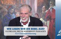 12.6 Zusammenfassung – UMGANG MIT SCHWIERIGEN PASSAGEN | Pastor Mag. Kurt Piesslinger