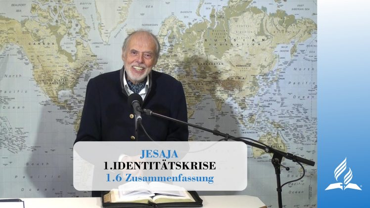 1.6 Zusammenfassung – IDENTITÄTSKRISE | Pastor Mag. Kurt Piesslinger