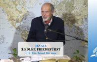 5.2 Ein Kind für uns – EDLER FRIEDEFÜRST   Pastor Mag. Kurt Piesslinger
