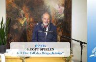 """6.3 Der Fall des Berg-""""Königs"""" – GOTT SPIELEN   Pastor Mag. Kurt Piesslinger"""