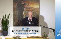 8.1 Trost für die Zukunft – TRÖSTET MEIN VOLK | Pastor Mag. Kurt Piesslinger