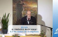 8.3 Die Geburt des Evangeliums – TRÖSTET MEIN VOLK | Pastor Mag. Kurt Piesslinger