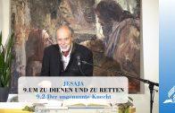 9.2 Der ungenannte Knecht – UM ZU DIENEN UND ZU RETTEN | Pastor Mag. Kurt Piesslinger