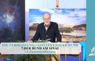7.6 Zusammenfassung – DER BUND AM SINAI | Pastor Mag. Kurt Piesslinger