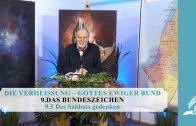 9.5 Des Sabbats gedenken – DAS BUNDESZEICHEN | Pastor Mag. Kurt Piesslinger