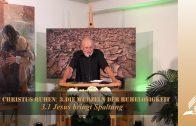 3.1 Jesus bringt Spaltung – DIE WURZELN DER RUHELOSIGKEIT   Pastor Mag. Kurt Piesslinger / für Jugend