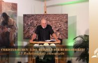 3.5 Ruhelosigkeit entwurzeln – DIE WURZELN DER RUHELOSIGKEIT | Pastor Mag. Kurt Piesslinger / für junge Leute