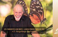 4.1 Ausgelaugt und müde – DER PREIS DER RUHE | Pastor Mag. Kurt Piesslinger / für junge Leute