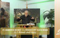 11.2 Rituale und Opfer – SEHNSUCHT NACH MEHR | Pastor Mag. Kurt Piesslinger / für junge Leute