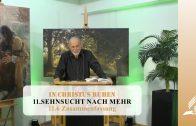 11.6 Zusammenfassung – SEHNSUCHT NACH MEHR   Pastor Mag. Kurt Piesslinger